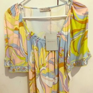 Fashion luxe blouse Emilio Pucci